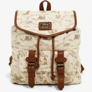 Loungefly Disney Winnie The Pooh Map Backpack